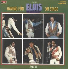 Having Fun With Elvis Onstage Volume V