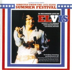 Directly From The 1972 Elvis Summer Festival