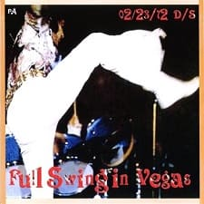 Full Swing In Vegas, February 23, 1972 Dinner Show