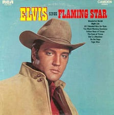 Elvis Singing Flaming Star And Others