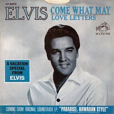 Come What May / Love Letters (45)